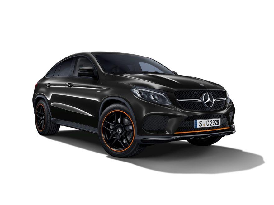Mercedes-Benz GLE Coupé OrangeArt Edition, ya disponible en los concesionarios