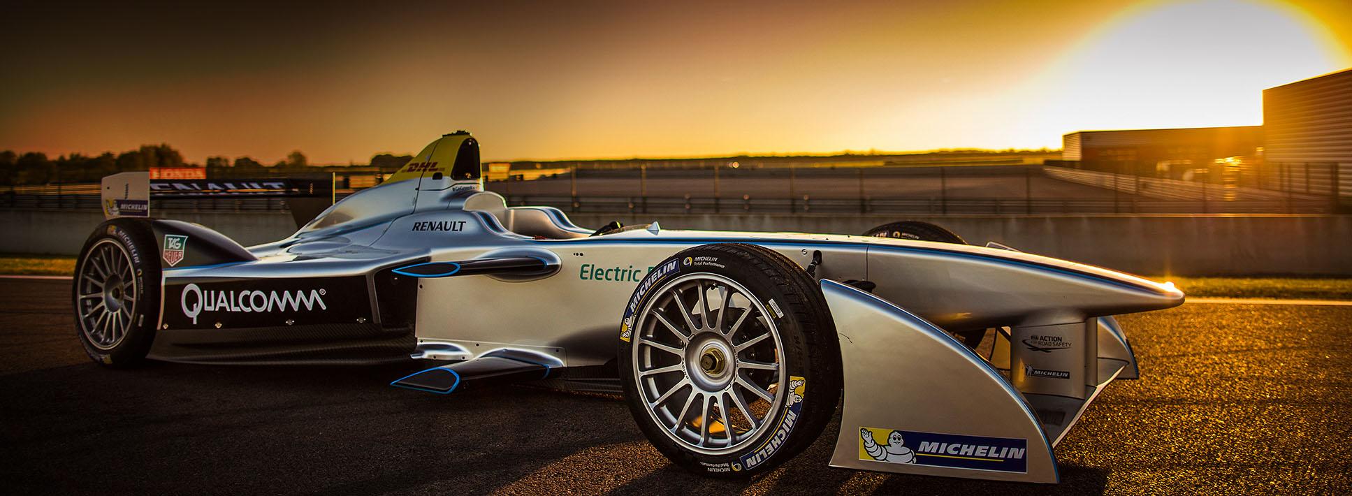Formula E baterías Williams