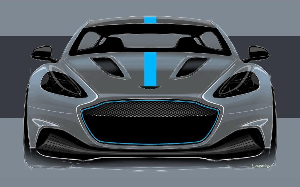 Aston Martin RapidE concepto