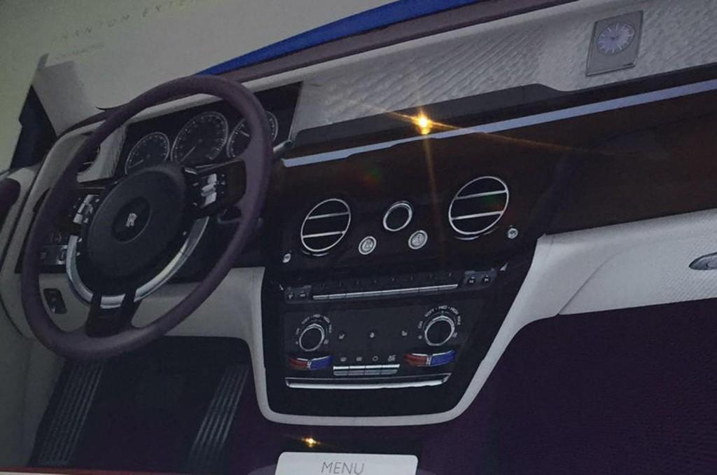 Filtradas las imágenes del nuevo Rolls-Royce Phantom antes de su debut