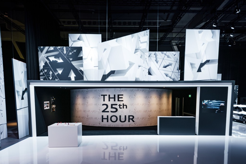"""""""25th Hour"""" project: Audi is researching the use of time in"""