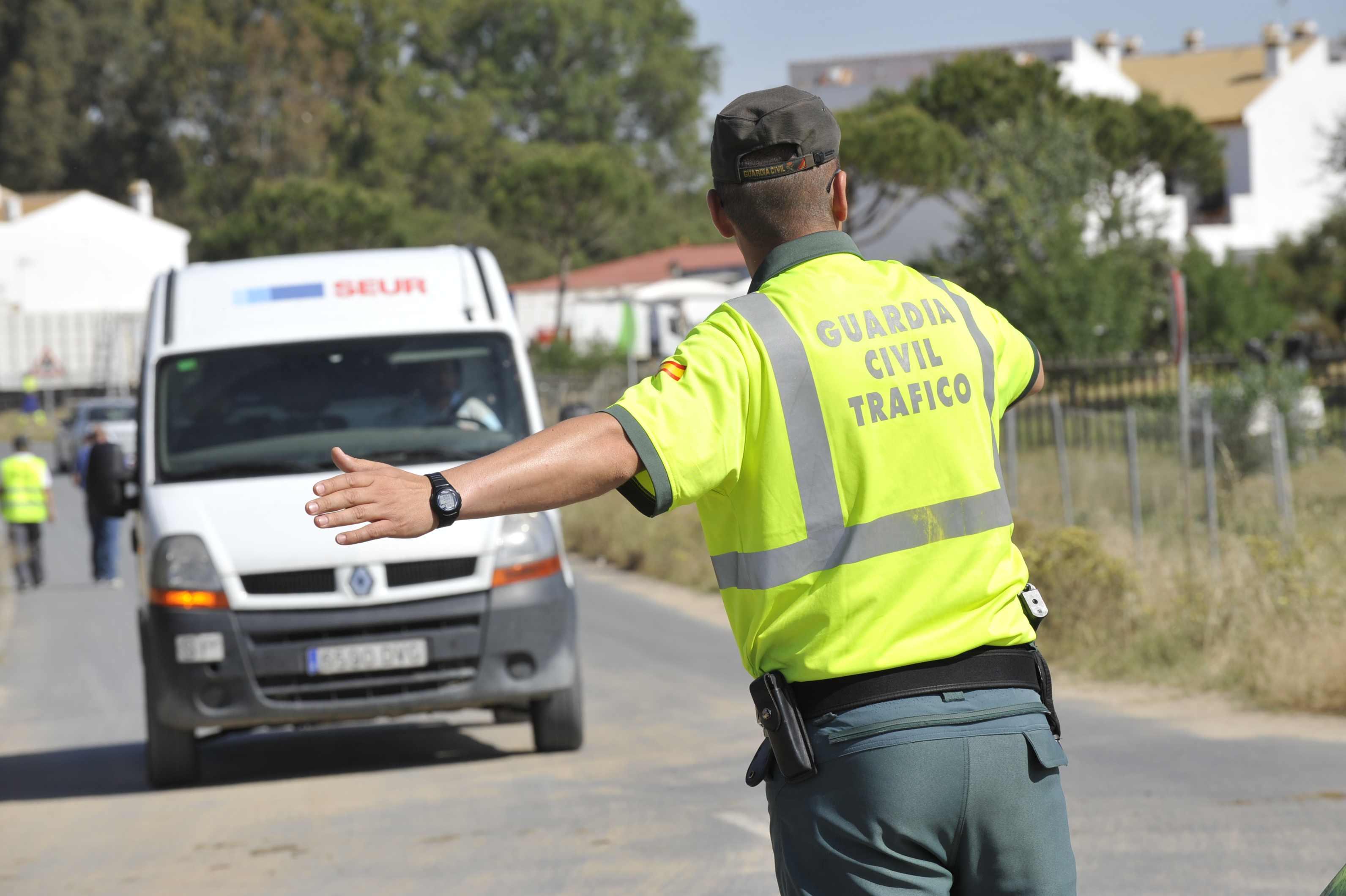 Guardia Civil controles de carretera