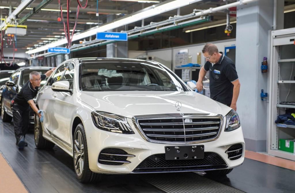 Mercedes-Benz Clase S Sindelfingen