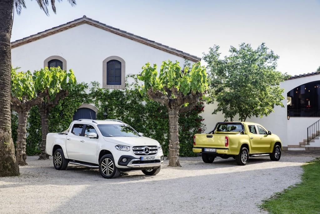 Mercedes-Benz X-Klasse – Progressive Exterieur