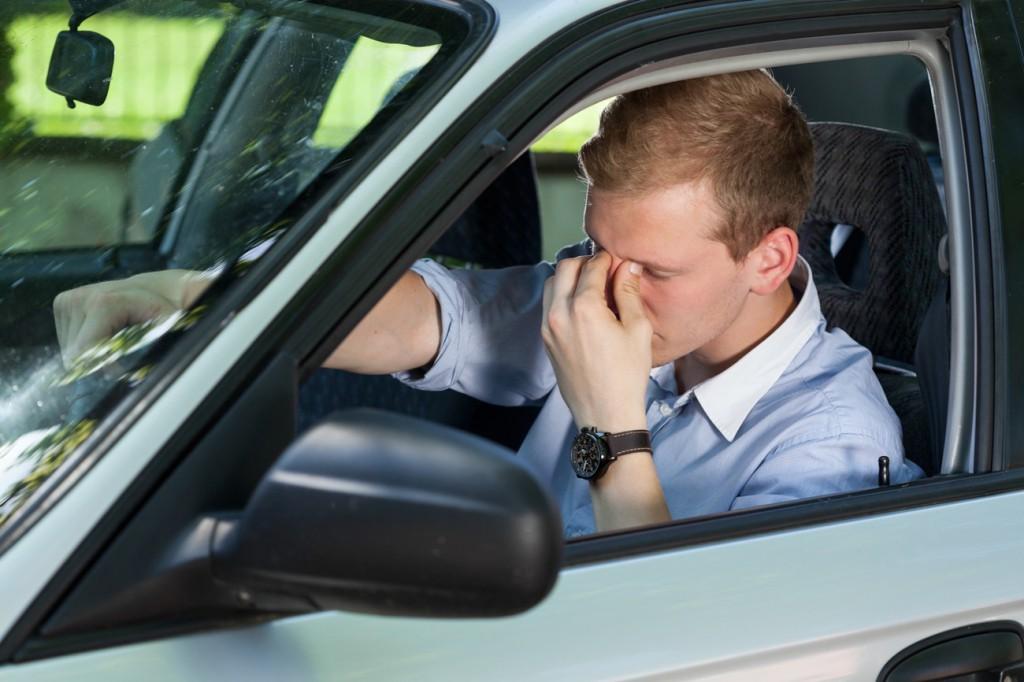 conductor con somnolencia