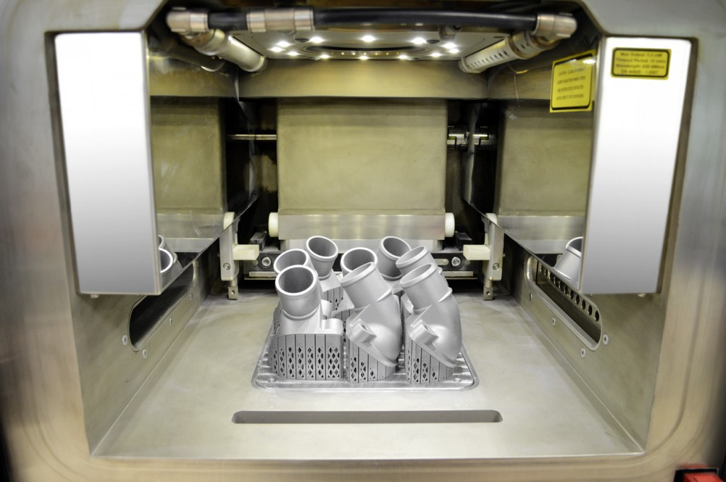 Mercedes Trucks impresora 3D