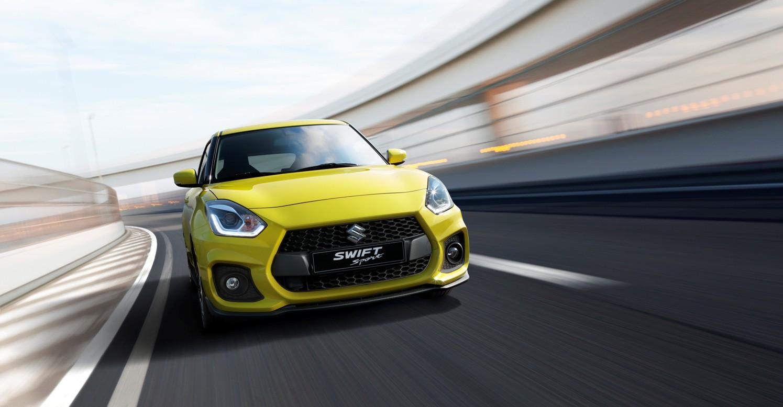 El nuevo Suzuki Swift Sport mejora sus características: ahora más potente y más ligero