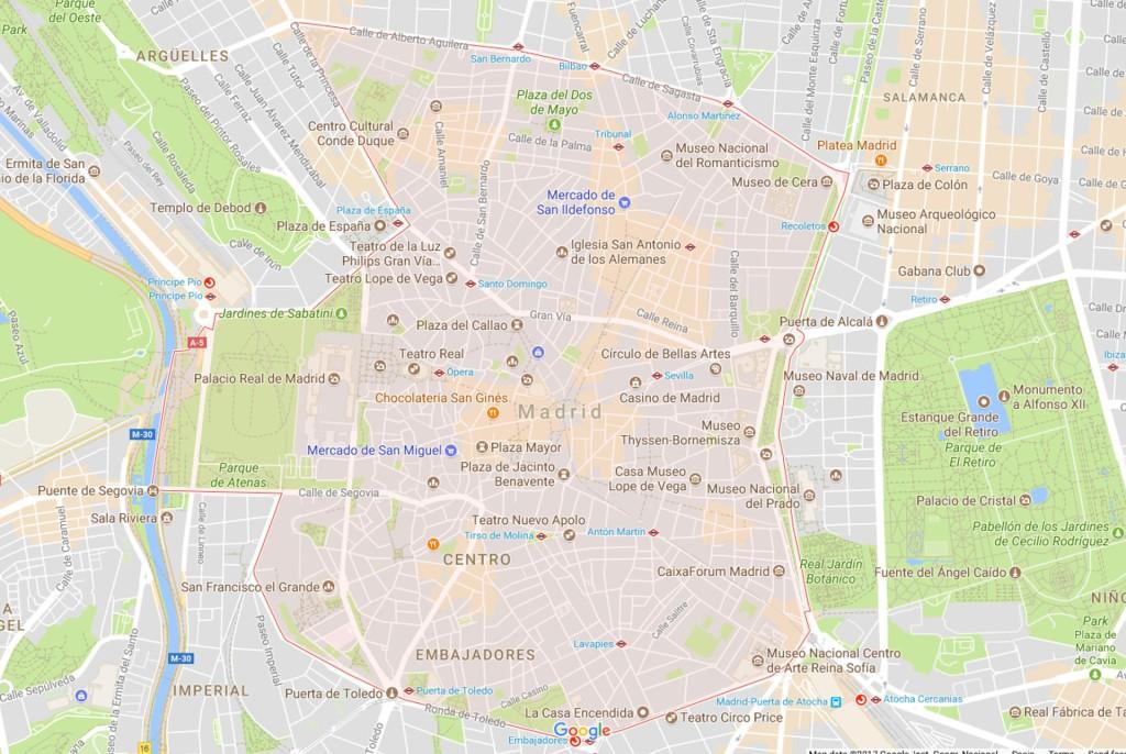 mapa-distrito-central-madrid