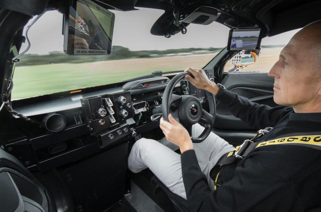El McLaren BP23 ya se encuentra realizando sus primeras pruebas en carreteras