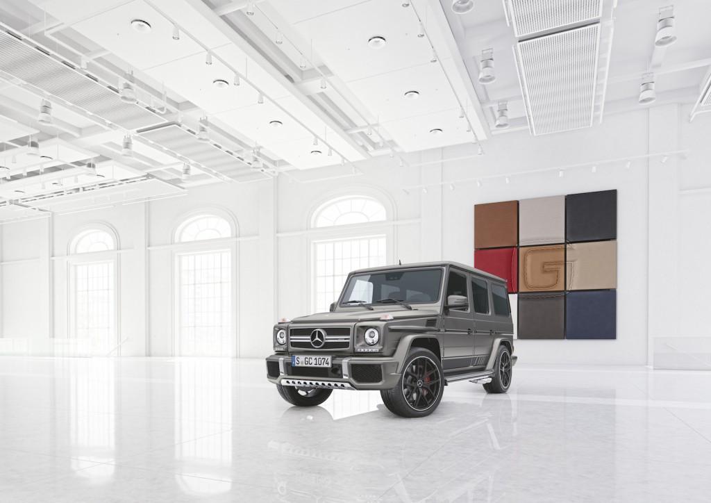 Mercedes-AMG G 63 und Mercedes-AMG G 65: Exclusive Edition