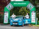 Nuevo récord de ecoconducción para el Ford Fiesta y Ford Ranger