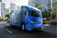 Fuso presenta en el Salón de Tokio sus camiones eléctricos, aunque todavía no estarán en servicio