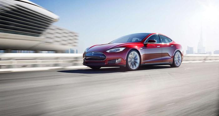 Tesla Model S aceleración