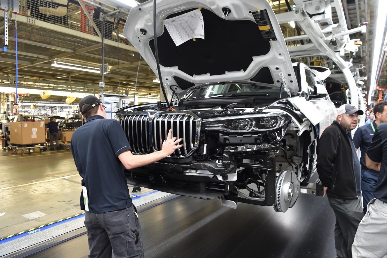 El BMW X7 comienza a cobrar vida en la planta americana de Spartanburg