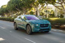 El Jaguar I-Pace, el SUV eléctrico de la marca británica, listo para salir a jugar