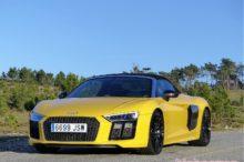 Prueba Audi R8 Spyder 5.2 FSI V10 540 CV Quattro S-Tronic