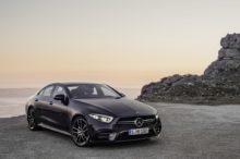 El Mercedes CLS estrena una nueva variante 53 AMG junto al Clase E Coupé y Cabrio