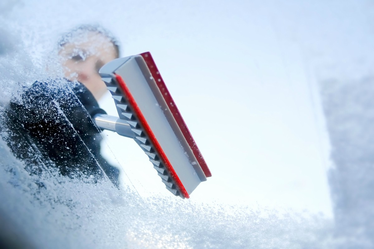Parabrisas descongelar método