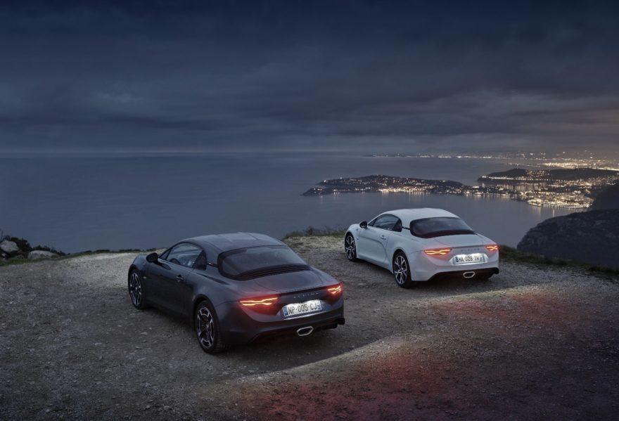 El Alpine A110 amplía su gama con las nuevas versiones Pure y Légende