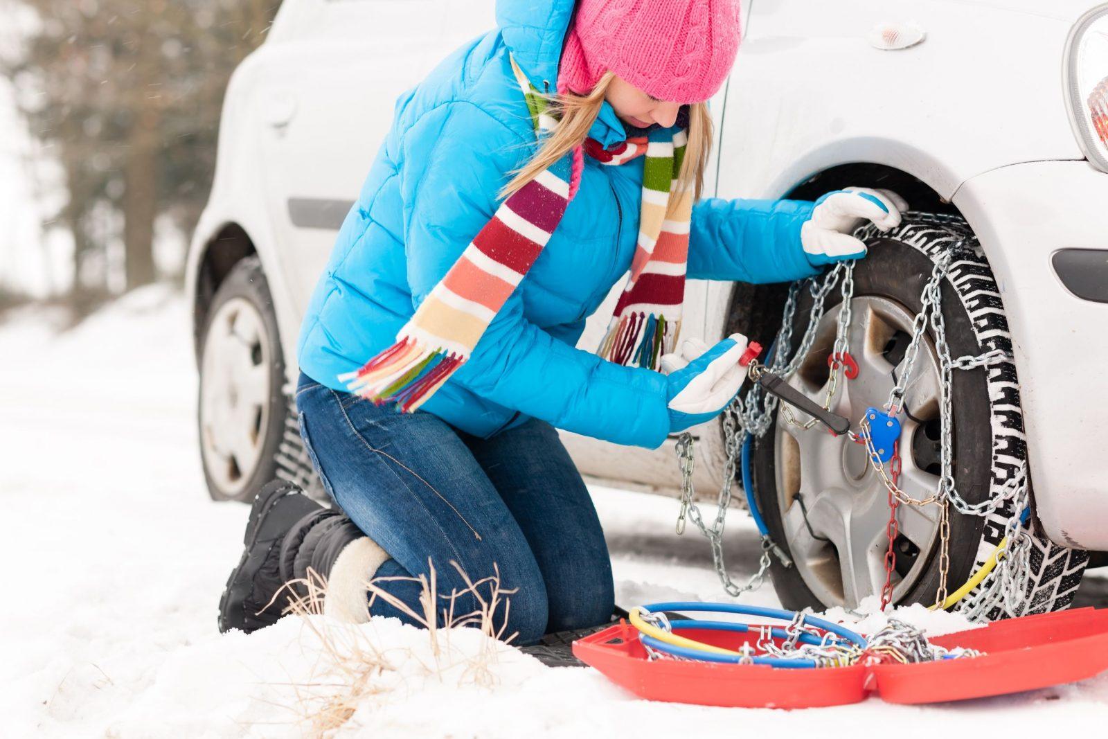 Cómo Colocar Cadenas De Nieve