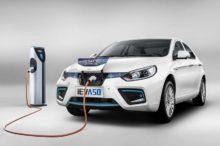 Se presenta el JAC iEV A50, un vehículo 100% eléctrico chino con 500 kilómetros de autonomía