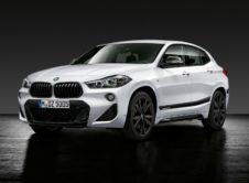 Los nuevos BMW X2, X3 y X4 reciben su dosis de piezas M Performance Parts