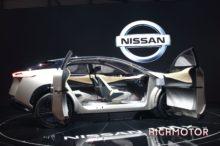El Nissan IMx KURO debuta en el Salón del Automóvil de Ginebra como prototipo de crossover eléctrico