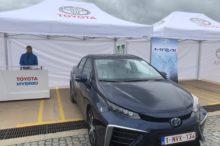 El Toyota Mirai viene de paso a Málaga, pero espera poder instaurarse de forma definitiva en España