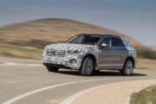 El nuevo Volkswagen Touareg se presentará en Pekín, pero se deja ver antes en estas imágenes
