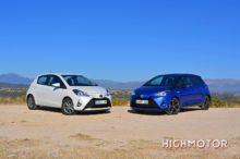 Comparativa: Toyota Yaris 100H Hybrid vs Yaris 110, ¿híbrido o gasolina?