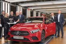 La producción del nuevo Mercedes Clase A comienza para conquistar de nuevo el mercado