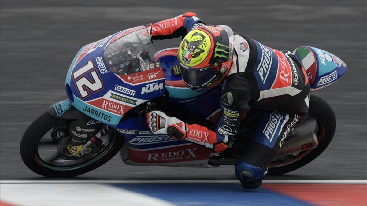 Bezzecchi se llevó la victoria en Argentina en Moto3