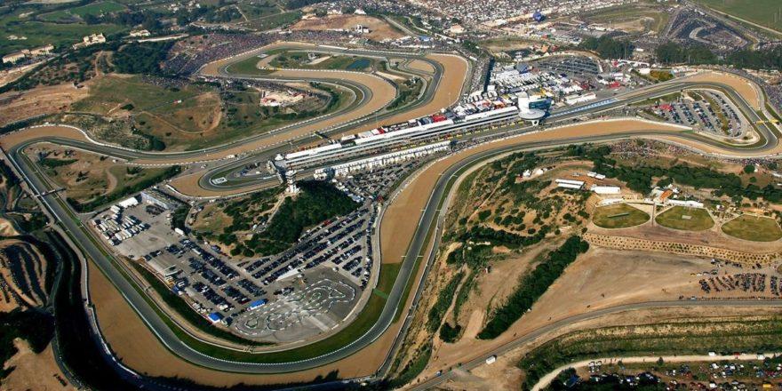 Vista aérea del Circuito de Jerez, sede del GP de España