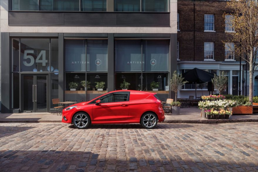 El nuevo Ford Fiesta Van y la nueva Ranger Wildtrack X se dan cita en el Salón del Vehículo Comercial de Birminghan