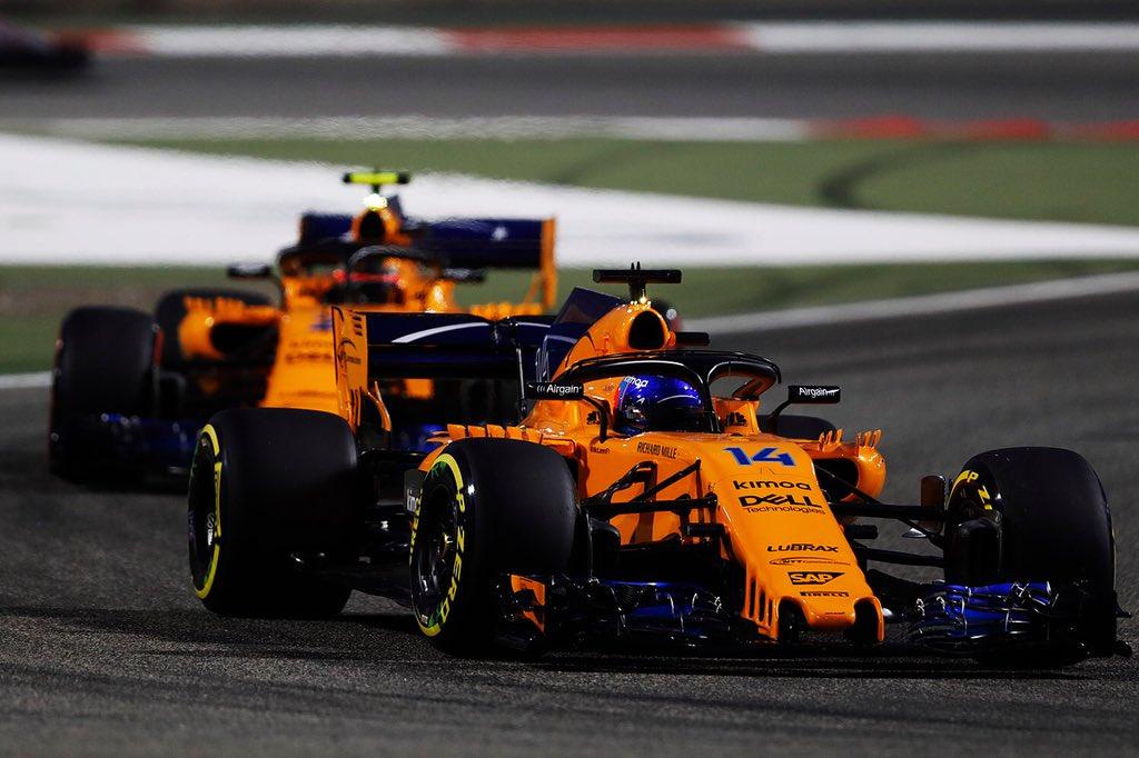 Los dos McLaren entraron en los puntos en Bahrein
