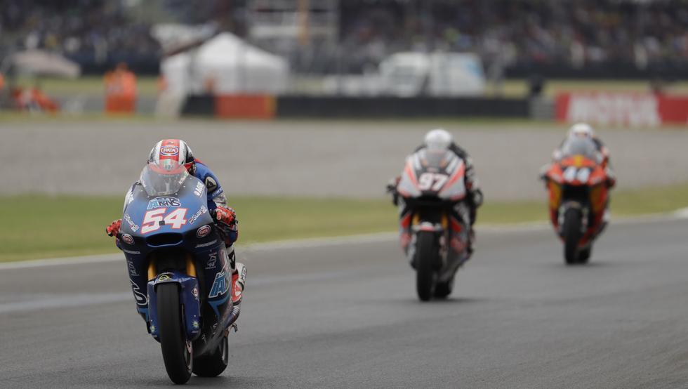 Pasini dejó sin victoria a Vierge en Moto2