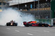 GP de Azerbaiyán 2018 de F1: primera victoria de la temporada para Lewis Hamilton, con Raikkonen y Pérez en el podio