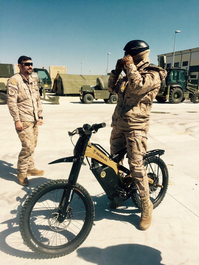 Bultaco armada