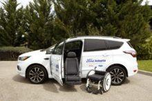 Ford  y ONCE crean la eChair: un prototipo que facilitará el acceso de las personas con movilidad reducida