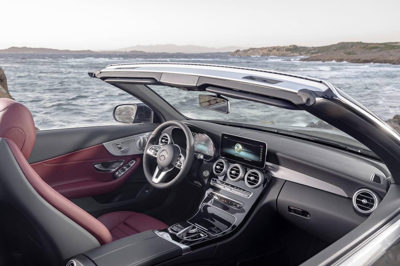 Mercedes Clase C coupé y cabrio