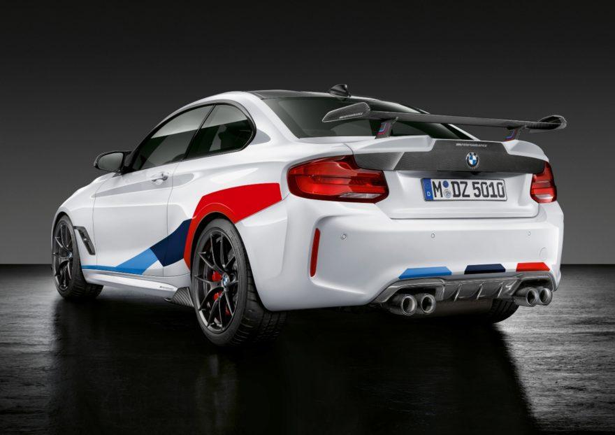 El BMW M2 Competition se vuelve más radical con las piezas de M Performance Parts