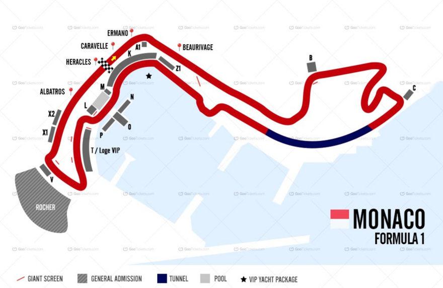 El Circuito de Montecarlo es el circuito urbano más famoso del mundo