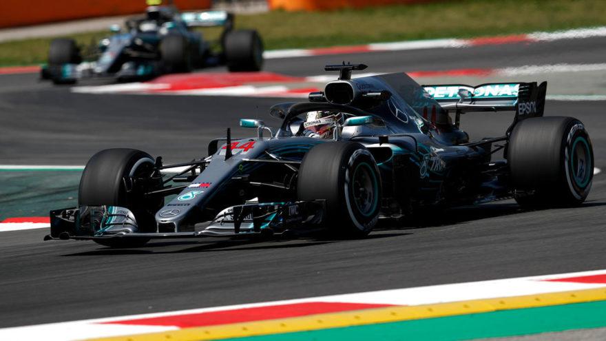 Hamilton logró la victoria en GP de España