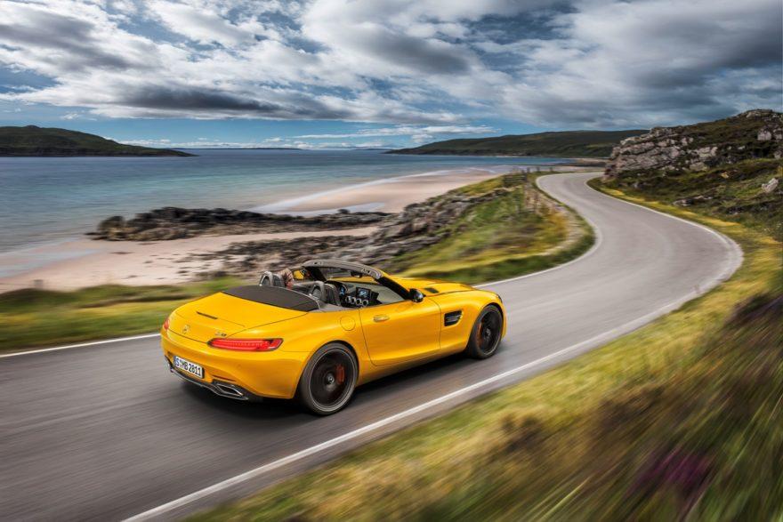 El Mercedes-AMG GT da la bienvenida a un nuevo miembro, el GT S Roadster