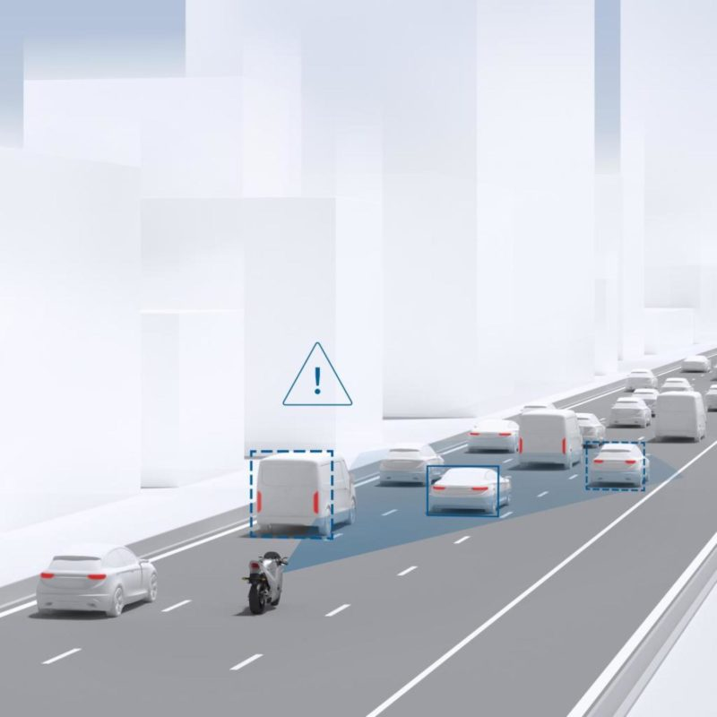 Los asistentes a la conducción entrarán de lleno en las motocicletas a partir de 2020