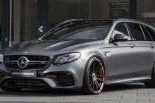 Esto es un Mercedes-AMG E63S State, pero no es el familiar que te esperas