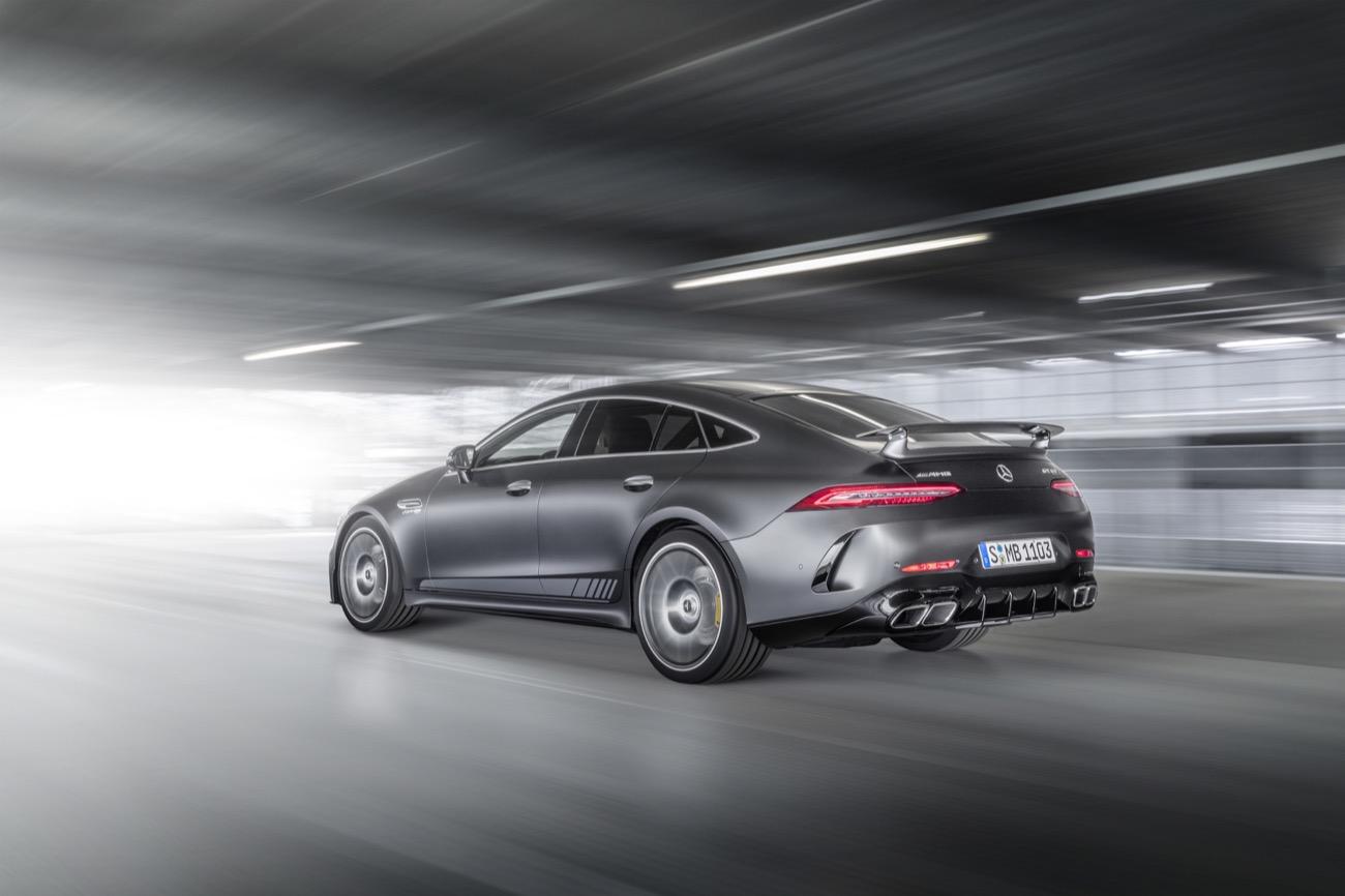 Mercedes-AMG GT 63 S 4MATIC+ Edition 1: Noch mehr Individualität für das AMG GT 4 puertas Coupé