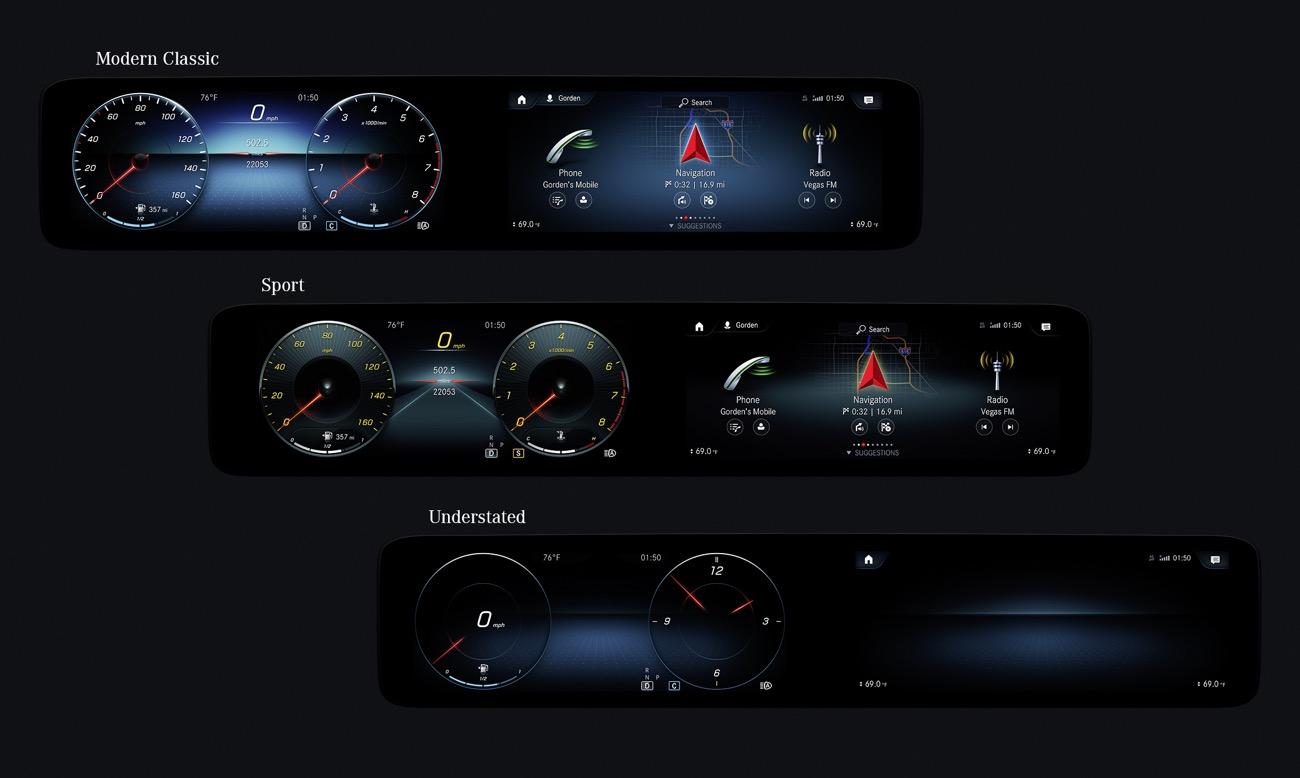 Mercedes multimedia MBUX