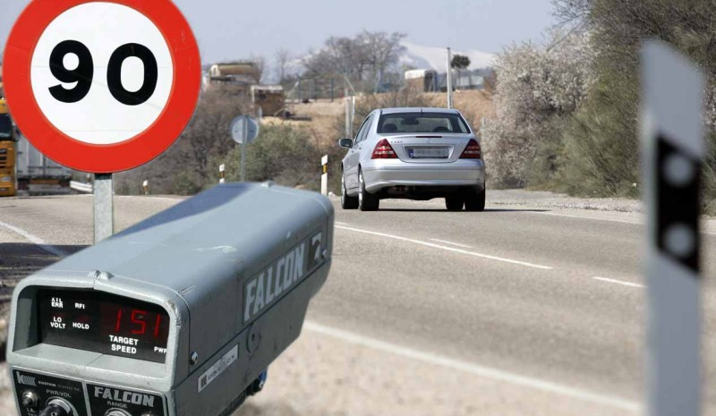 multa de tráfico