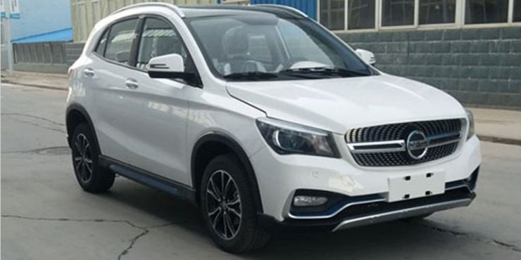 SUV chino copia